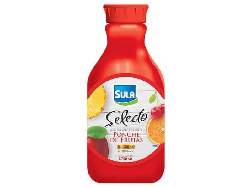 Jugo selecto Sula de ponche de frutas